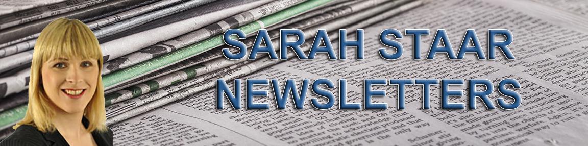 Sarah Staar Newletters